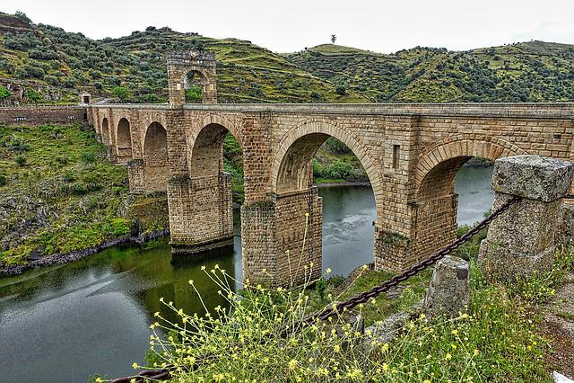 Bridge, Alcantara, Roman, Historic, Landmark, Heritage
