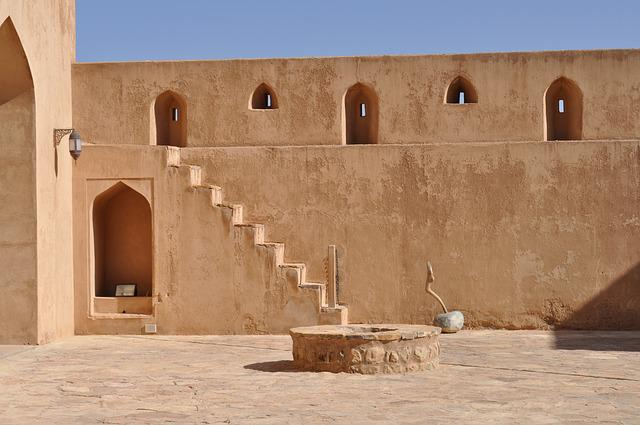Fort, Wall, Uae, Fortification, Historic, Fujairah