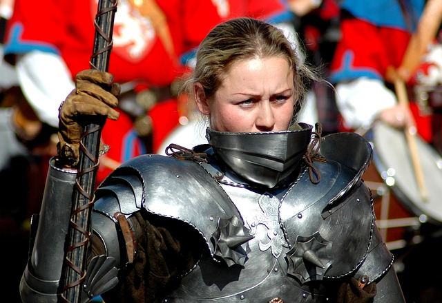 Woman, Warrior, Armor, Tournament, Historical Fencing