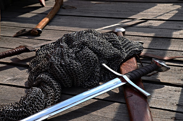 Historical Odtwórstwo, The Middle Ages, Sword, Hauberk