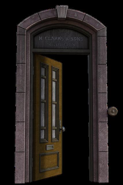 Door, Passage, Architecture, Input, Historically