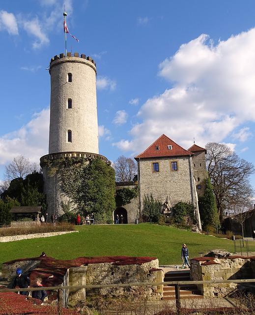 Sparrenburg, Germany, Bielefeld, Historically