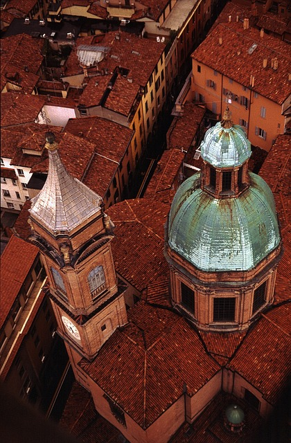 Italy, Bologna, City, Historically, Architecture