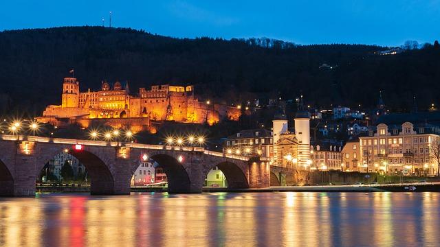 Heidelberg, Castle, Historically, Historic Center