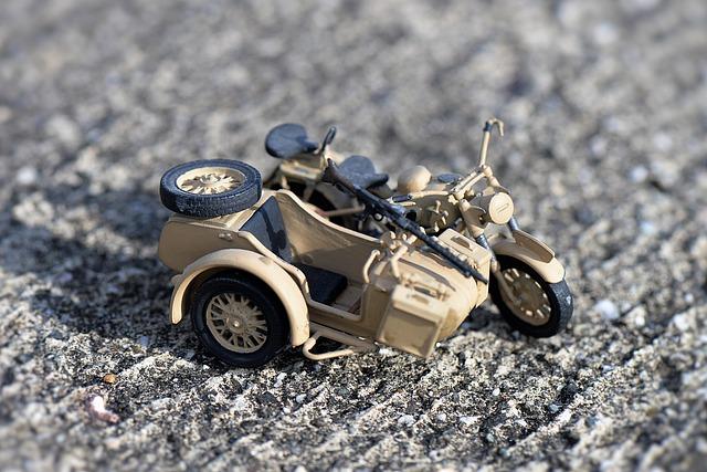Model, Sidecar Machine, Motorcycle, Historically