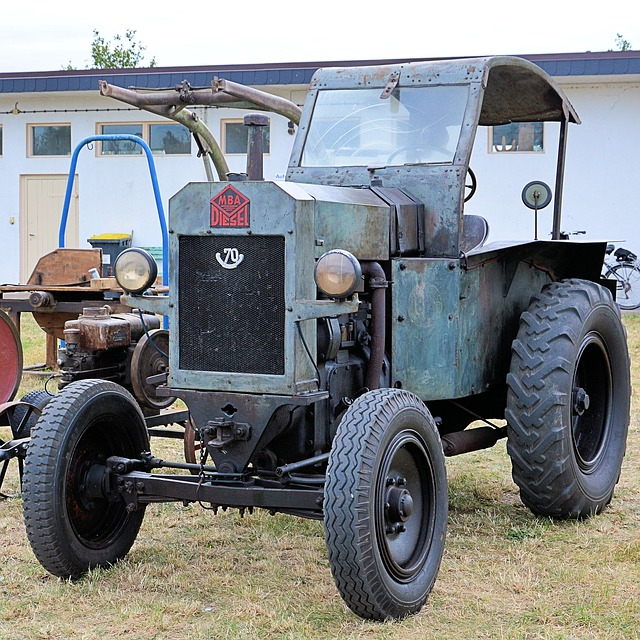 Tractor, Tractors, Old, Historically, Mba-tractor, Mba