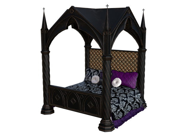 Bed, Four Poster Bed, Historically, Place To Sleep