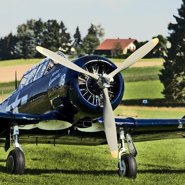 Propeller Plane, Aircraft, Aviation, Historically