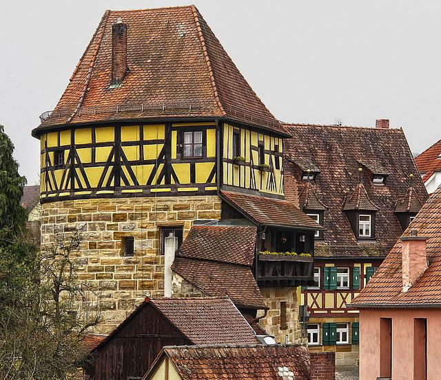 Old Town, Historically, Building, Roof