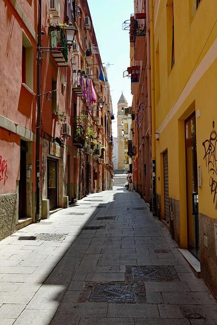 Sardinia, Cagliari, Italy, Historically, Homes