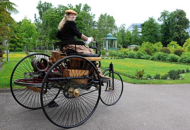 Historically, Wilhelma, Stuttgart, Oldtimer, Automotive