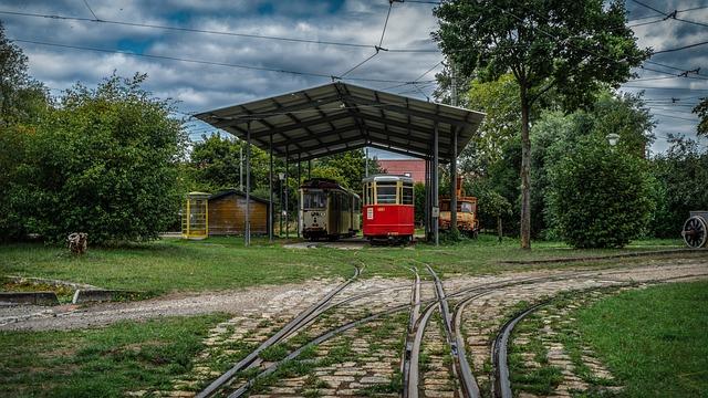 Tram, Railway, Transport, Traffic, Rails, Historically