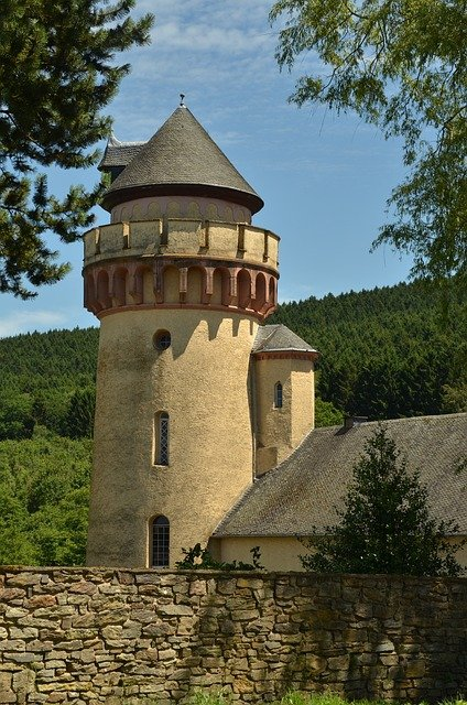 Castle, Farm, Tower, History, Building, Architecture