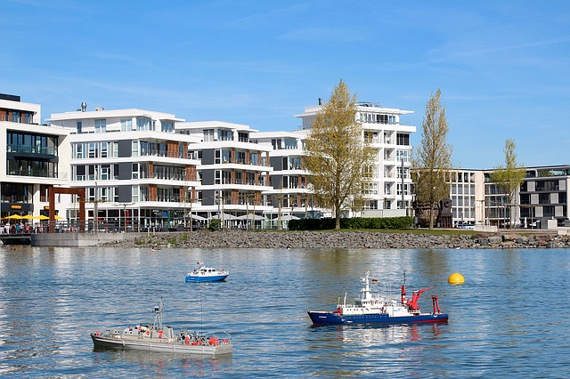 Hörde, Phoenix Lake, Model Boat, Lake, Hobby, Leisure