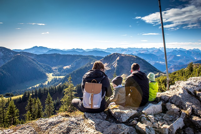 Panorama, Alpine, Good View, Hochwald, Firs, Mountains