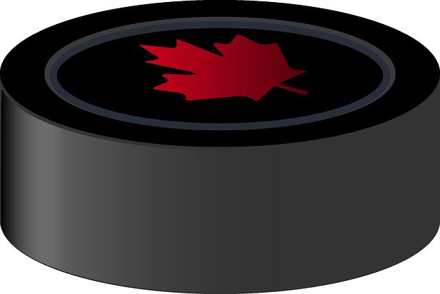 Puck, Hockey, Canada, Sports