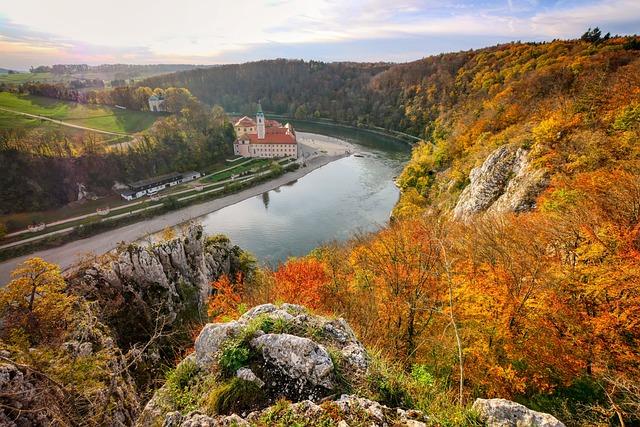 Panorama, Höhenweg, View, Autumn, Landscape, Rock
