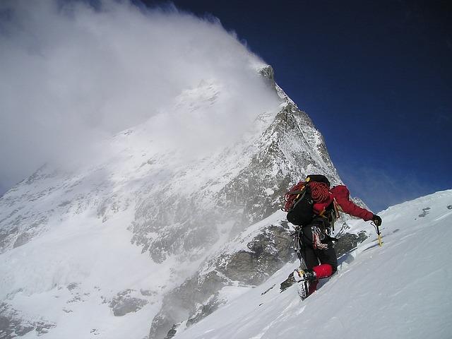 Matterhorn, Hörnligrat, Cold, Climb, Alpinism