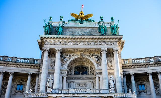 Hofburg Imperial Palace, Vienna, Austria, Architecture