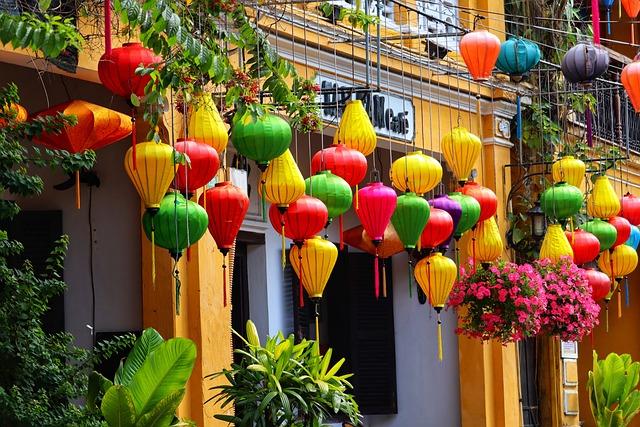 Vietnam, Hoi An, Chinese Lanterns, Colorful
