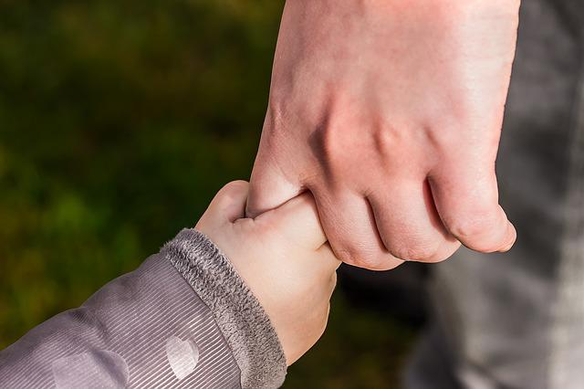 Hands, Child's Hand, Hold Tight, Toddler Hand