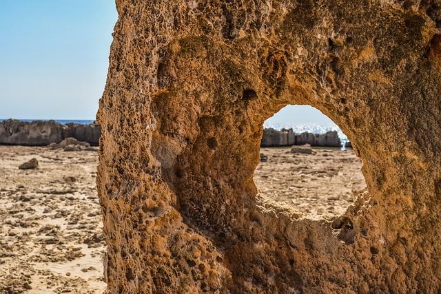 Rock Formation, Hole, Window, Wilderness, Rough Terrain