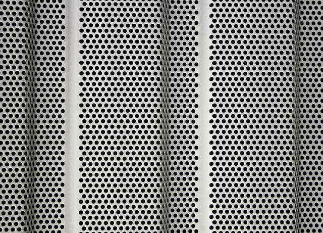 Perforated Sheet, Sheet, Holes, Pattern, Metal