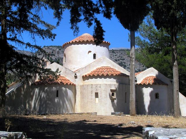 Island Of Crete, Holiday, Panagia Kera, Church