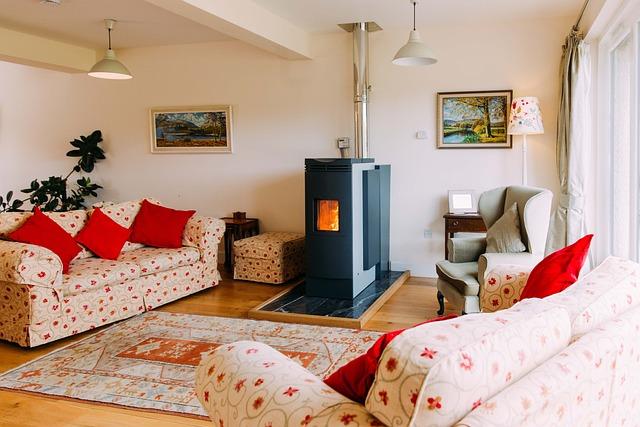 Stove, Holiday House, Holiday, Comfortable, Interior