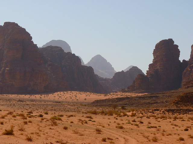 Wadi Rum, Negev, Negev Desert, Jordan, Holiday, Travel