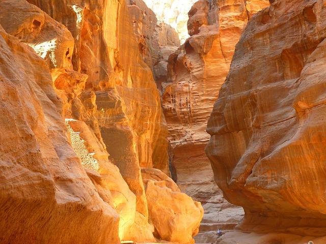 Siq, Jordan, Holiday, Travel, Middle East, Canyon