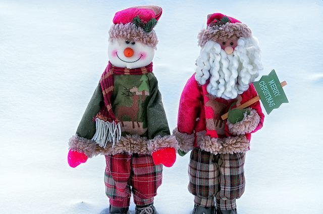 Snow, New Year's Eve, Toy, Winter, Holiday, Christmas