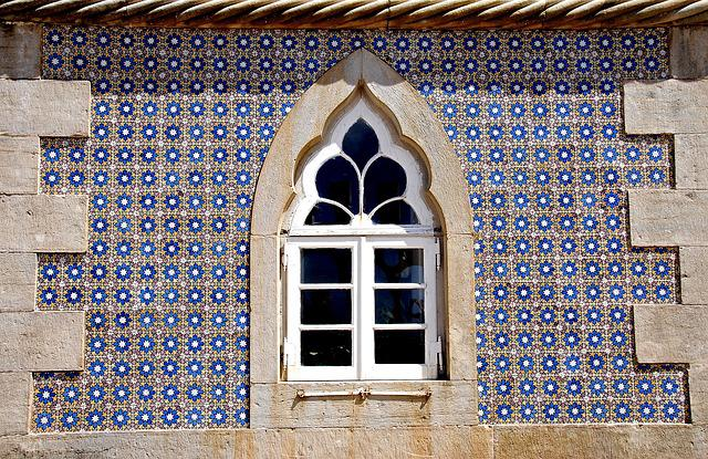 Window, Portugal, Sintra, Castle, Fortress, Holiday