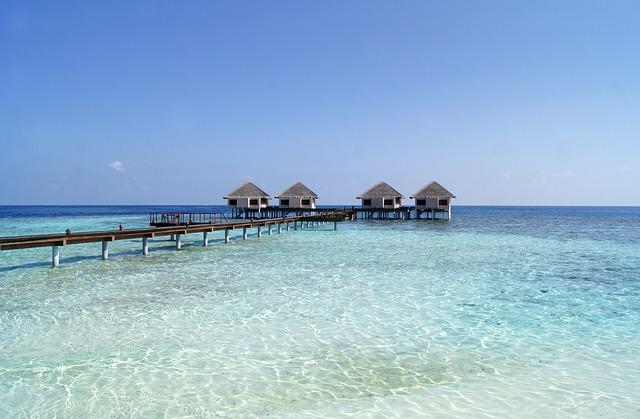 Maldives, Beach, Holiday, Sea, Sand, Water, Blue, Sky