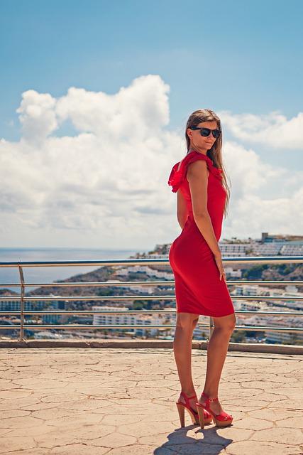 Gran Canaria, Canary Islands, Holiday, Summer, Woman
