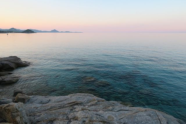 Holiday, Sardinia, Sunset