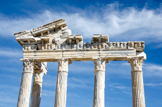 The Temple Of Apollo, Side, Turkey, Holiday, Antiquity