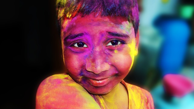 Holi, India, Vivid, Holiday, Culture, Color, Dye
