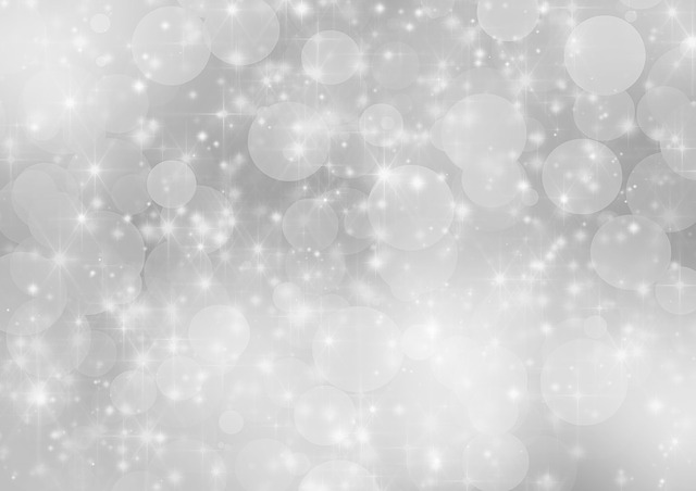 Silver, Background, Holiday, Bokeh, Abstract, Xmas