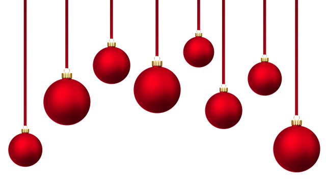Christmas Baubles, Background Christmas Balls, Holidays