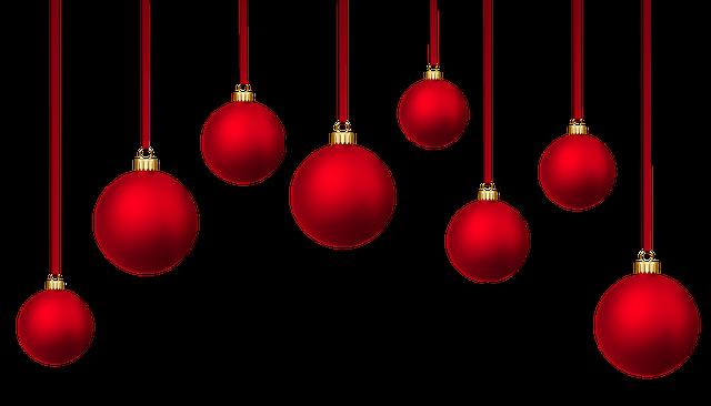 Christmas Baubles, Background Christmas Balls, Holidays