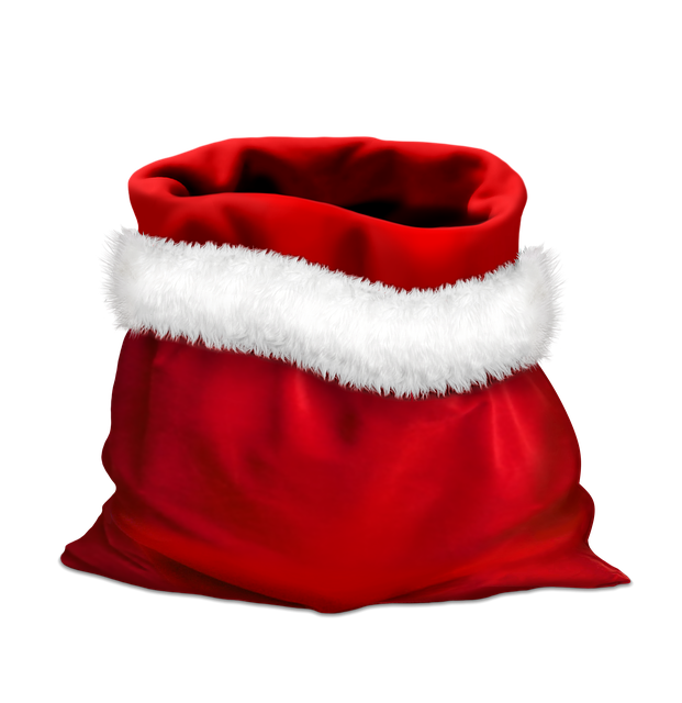 Gift, Gifts, Red Bag, Bag Of Santa Claus, Holidays