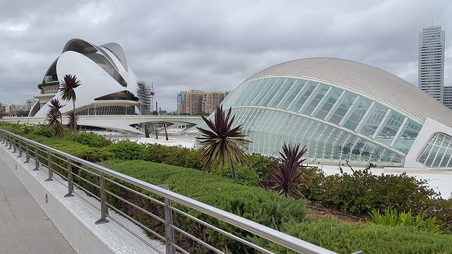 Valencia, City Of Arts And Sciences, Spain, Holidays