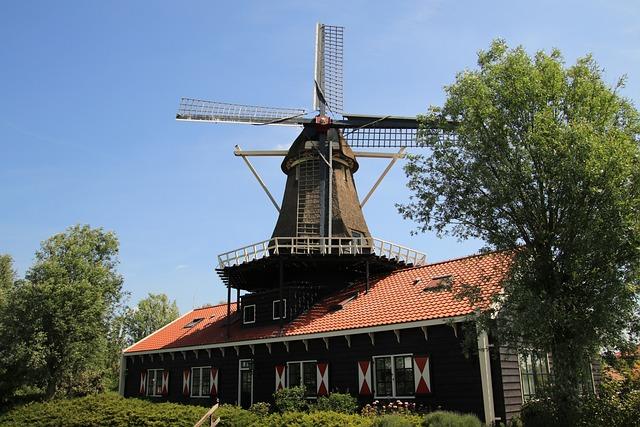 Mill, Wicks, Mills, Netherlands, Holland, Mill Blades