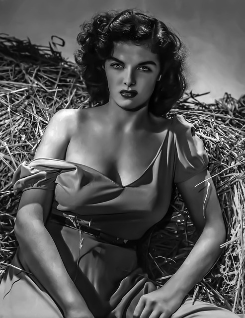 Jane Russell-female, Portrait, Hollywood, Actress