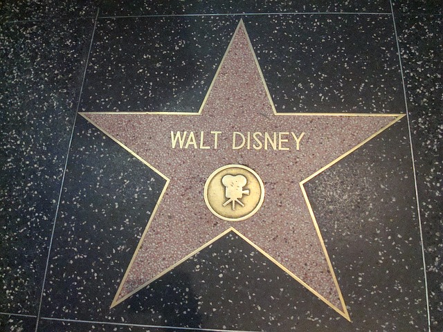 Star, Walt Disney, Hollywood Walk Of Fame