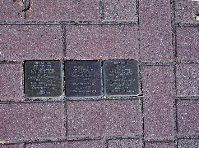 Memorial, Holocaust, Eppendorf, Ore Mountains, History