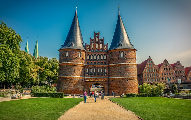 Lübeck, Holsten Gate, Landmark, Historically, City Gate