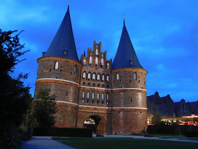 Lübeck, Holsten Gate, Historically, Hanseatic City