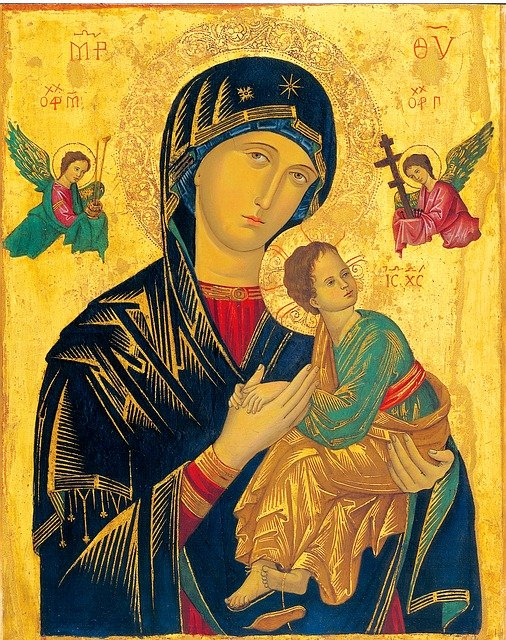 Mother Of Perpetual Help, Icon, Madonna, Holy